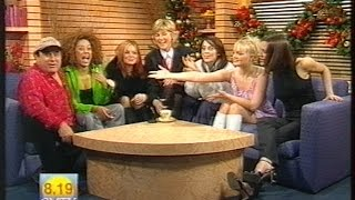 Spice Girls - 2 Become 1 & Interview - GMTV 1996