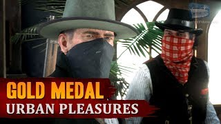 Red Dead Redemption 2 - Mission #54 - Urban Pleasures [Gold Medal]
