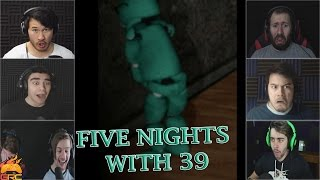 Gamers Reactions to 39 Doing The Dirty (OFFENSIVE) | Five Nights With 39
