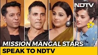 'Mission Mangal' Stars Akshay, Vidya & Taapsee On Their Space Film And More