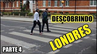 Ônibus de dois andares, Camden Town, Abbey Road #LONDRES ( PARTE 4 )