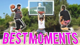 TOP 100 FUNNIEST AND EPIC BASKETBALL MOMENTS!