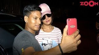 Richa Chadda Spotted Clicking Pictures With Fans!