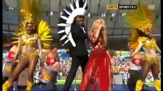 Shakira - La La La  Closing Ceremony Brazil 2014