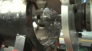 Elsa Supercombinata Portable Line Boring and Rotary Welding Machine