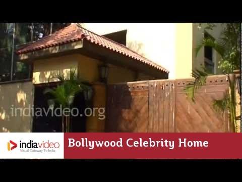 Bollywood Celebrity Home - Aishwarya Rai & Abhishek Bachchan's House In Mumbai   India Video