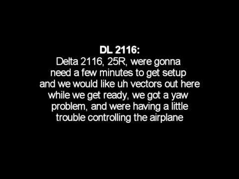 watch Live ATC Delta Boeing 757 emergency landing @ LAX