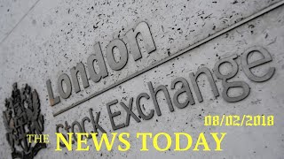 Intensifying U.S.-China Trade Fight Drags Down Stocks, Bond Yields | News Today | 08/02/2018 | ...