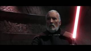 AOTC: Count Dooku vs Obi Wan Kenobi, Anakin Skywalker & Yoda