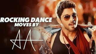 Best Dance Moves of Allu Arjun | Edited by Swarup Kanth | 12 Years of Journey