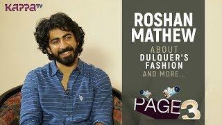 Roshan Mathew - Page 3 - Kappa TV
