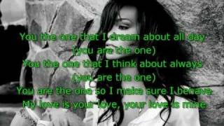 Rihanna - You Da One + (lyrics) New 2011