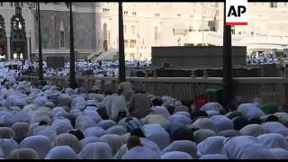 Pilgrims gathering for Hajj speak about Arab Spring