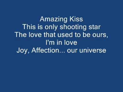 Amazing Kiss (english version) with yrics