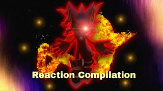 Sonic Forces - Enter Infinite trailer - Reaction Compilation