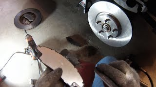 Replace Acura MDX front brake pads/rotors 2007-2013