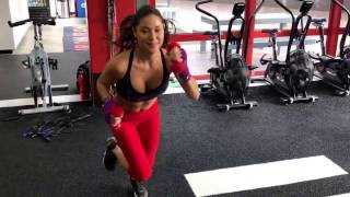 Full body workout with Arianny Celeste