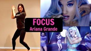 Ariana Grande 'FOCUS' Dance Tutorial   andreakswilson
