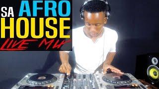 AFRO TRIBAL HOUSE MUSIC LIVE MIX 19 OCTOBER 2018 BY ROMEO MAKOTA