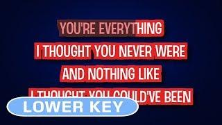 Broken Hearted Girl - Beyonce | Karaoke Lower Key