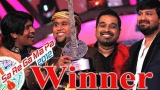 SA RE GA MA WINNER I Jasraj Joshi wins SaReGaMaPa 2012 I