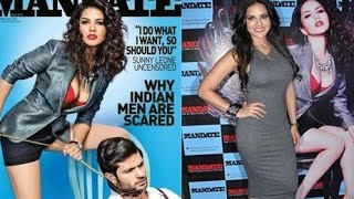 Sunny Leone on Cover Page of Mandate Magazine Launch