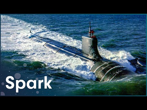 What s Inside A Nuclear Submarine Super Structures Spark