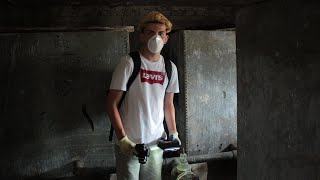 Exploring Haunted Abandoned Hospital (WARNING) GLASS THROWN!