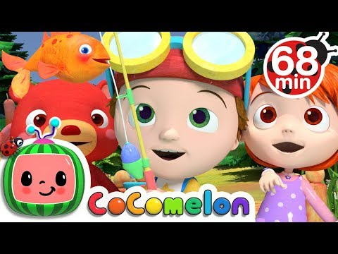 Xxx Mp4 12345 Once I Caught A Fish Alive More Nursery Rhymes Kids Songs Cocomelon ABCkidTV 3gp Sex