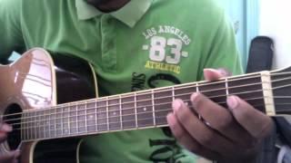 Jeena Jeena complete  Guitar lead lesson