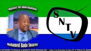 Minister Of Information And Communication Mohamed Rahman Swaray - Sierra Network Wan Pot