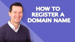 How to Register a Domain Name - Beginners Guide!