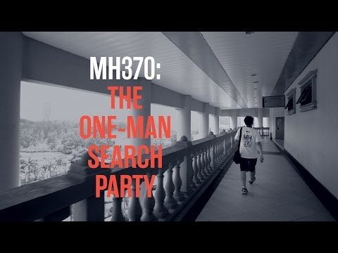 MH370: The One-Man Search Party | R.AGE original documentaries