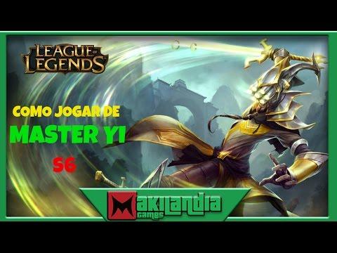 🔴 Como jogar de Master Yi em 12 minutos - League of Legends - Fala do champ S6