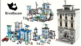 Lego City - All Police Stations from my channel Compilation - Lego Speed Build