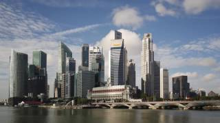 Time lapse of Singapore in 4k/full HD