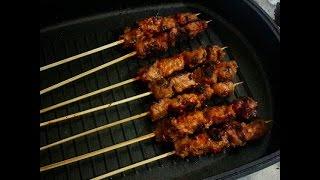 Sate daging sapi komo empuk