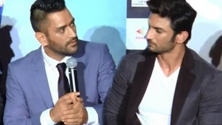 MS Dhoni Got Angry On Sushant Singh Rajput