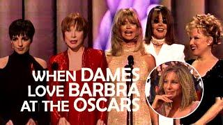 When Dames Love Barbra Streisand at the Oscars