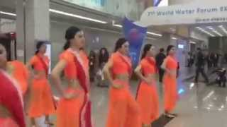 Korean Dancers tapping feet to Rangabati - Classic hit number of Odisha