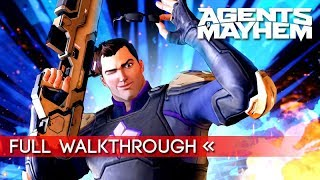 Agents of Mayhem   Full Story Mode Walkthrough (1080p HD)