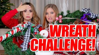 Merry Christmas! Wreath Decorating Challenge with Rosanna!