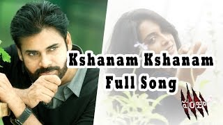 Kshanam Kshanam Full Song || Panjaa Movie || Pawan Kalyan, Sarah Jane Dias,  Anjali Lavania