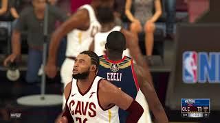 2021-2022 Pelicans vs Cavaliers