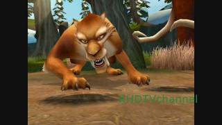 Ice Age 2 The Meltdown PC Walkthrough part 2 - Forest and Diego's Challenge