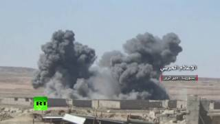 Fierce Fighting: Government forces push on ISIS positions in eastern Syria