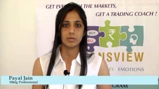 Malkansview - Mentor Student - Payal Jain, Marketing Professional