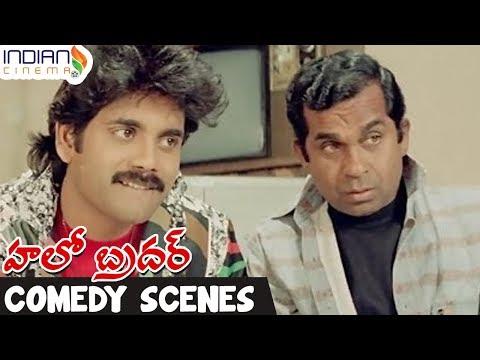 Xxx Mp4 Telugu Comedy Scenes Brahmanandam Comedy Nagarjuna Best Funny Videos Hello Brother Film 3gp Sex