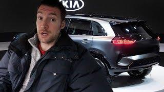 Kia Niro EV unveiled at CES 2018