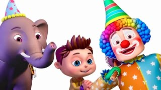 Five Little Babies In A Circus | Five Little Babies Collection | Nursery Rhymes & Kids Songs